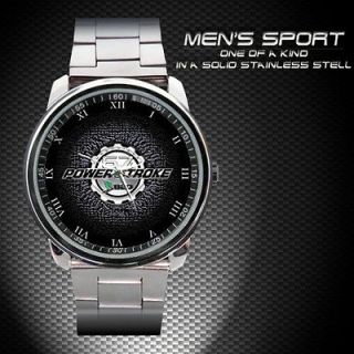 Power Stroke B20 Ford Emblem Unisex Sport Metal Watch BH 209