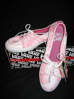 new with tags womens vans shoes size 8 5 surf sider