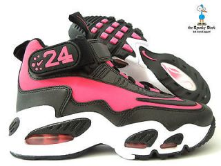 NIKE AIR GRIFFEY MAX I TODDLER GIRLS PINK SPARK BLACK SZ 7C (437354