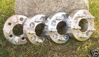 FULL SET OF 4  JEEP  WRANGLER  XJ  WHEEL ADAPTERS  SPACERS  1.5