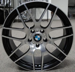 19 inch 3 series 325 330 335 M3 wheels rims black fits BMW   Last 2
