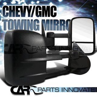07 12 CHEVY SILVERADO GMC SIERRA TOWING SIDE MIRRORS POWER HEATED