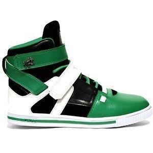 SHOES black green kelly phalanx size 9.5   112 skate punk knight