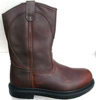 NEW MENS RED WING WORK BOOTS WELLINGTON SIZE 11.5 E2 EXTRA WIDE 5763