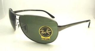 authentic ray ban warrior sunglasses 3342 004 new 63mm