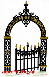 Dept. 56 Christmas Carol Holiday Victorian Wrought Iron Gate 58319