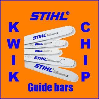 12 30cm Genuine Stihl Chainsaw Carving Guide Bar MS170 1MS180 P/N