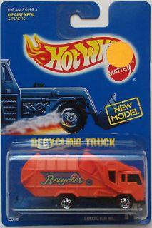 1992 hot wheels recycling truck col 143 basic wheels time