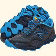 120 NEW MENS NEW BALANCE TRAIL RUNNING MINIMUS SHOES MT1010GB BLUE