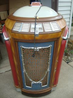 1947 seeburg symphonola jukebox plays 78 s