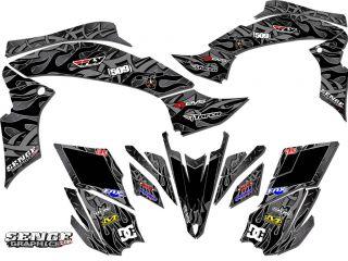 RAPTOR 125 & 250 YAMAHA GRAPHICS KIT DECO STICKERS ATV QUAD 4 WHEELER