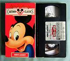 Walt Disney Cartoon Classics Halloween Haunts VHS Tap