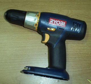 ryobi p204 cordless drill driver bare tool new time left