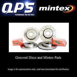 Mercedes SLK 200K Kompressor [R171] 07/04  front brake discs + mintex