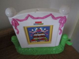 Fisher Price Little People replacement Wedding table party bride