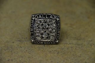 newly listed 1977 dallas cowboys world championship ring time left