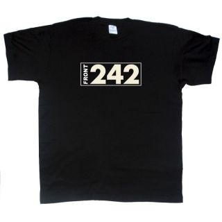 front 242 new t shirt sizes s xxl more options