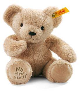 My First Steiff teddy bear in beige   EAN 664120   brand new