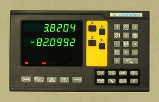 LOT OF 4 DIGITAL READOUT MODEL 811 301 3 SCALES XYZ MILLING MACHINE