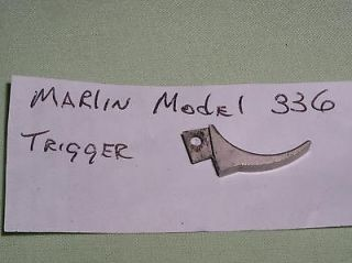 Marlin Model 336 Lever Rifle Trigger Stainless Finish Gun Parts
