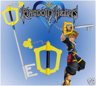 big size 41 kingdom hearts sora keyblade with stand from