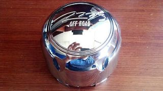 MB Off Road C JD 02 Gunner Wheel Center Cap Chrome Snap In 5x5 6x135