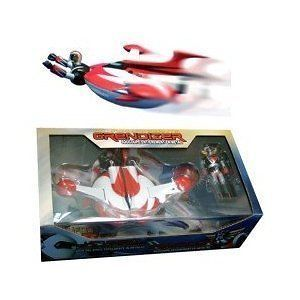 Grendizer Goldorak Die Cast Spaizer with Ejectable Figure UFO HIGH