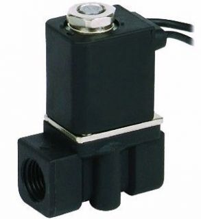 Miniature pneumatic solenoid valve 2 way normally closed 1/8 NPT 12