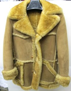 marlboro shearling sheepskin fur coat jacket