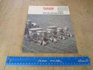 case corn planter brochure 400 series 4 row pull type