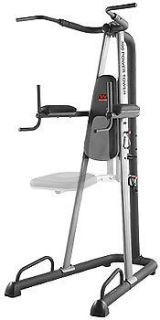 weider 390 pull up chin up station power tower webe2998