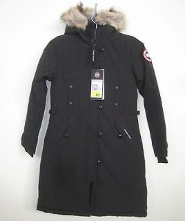 NEW CANADA GOOSE KENSINGTON DOWN PARKA WOMENS M AUTHENTIC JACKET FAST