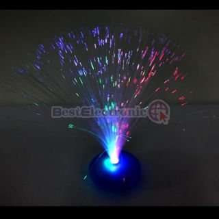 new led optic fiber lamp night light stand colorful more options color