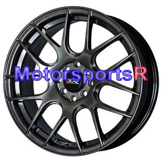 17 XXR 530 Chromium Black Concave Rims Wheels 93 97 98 02 Toyota