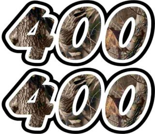 Quad ATV Camo 400 Decals Stickers 4x4 yamaha suzuki kawasaki big bear