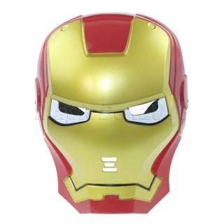 Iron Man LED Light Eye Face Mask Fancy Dress Masquerade Costume
