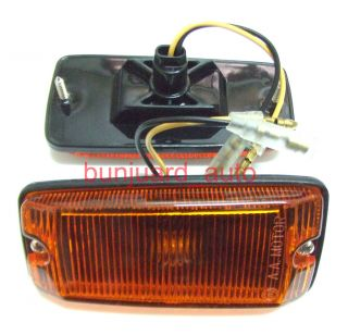 PAIR SIDE TURN SIGNAL AMBER INDICATOR LIGHT SUZUKI SJ413 SAMURAI JEEP