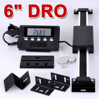Digital Readout Scale Magnetic DRO LCD Remote For Bridgeport Mill