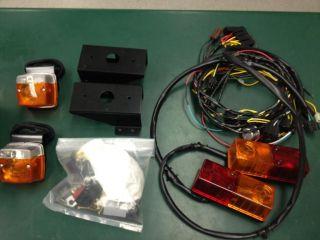 John Deere Gator turn signal and horn kit 4X2 & 6X4. New in box.
