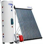 150 Liter 40 Gallon 18 Vacuum Tube Solar Water Heater Dual Coil Tank