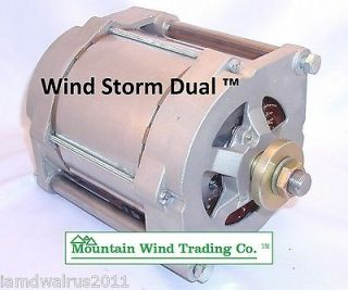 48/96 volt Super Dual permanent magnet alternator pma for wind turbine
