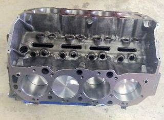 new bbc big block chevy 496 short block 454 2 bolt block time left $