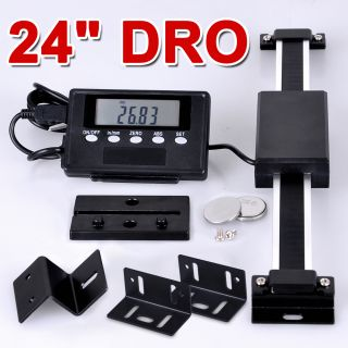 Newly listed 24 Digital Readout Scale Bridgeport Mill Lathe DRO Table