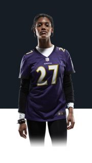 Ravens Ray Rice Womens Football Home Game Jersey 469891_574_A_BODY