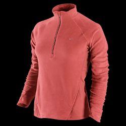 Nike Chamois Womens Half Zip Running Shirt