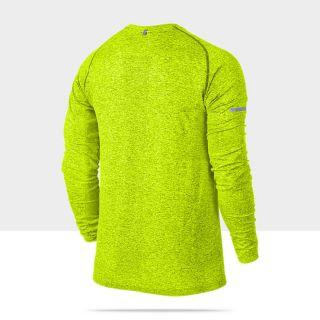 Nike Dri FIT Knit Long Sleeve Mens Running Shirt 519716_702_B