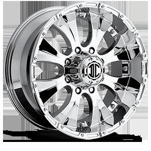 17 Inch 6x135 Chrome Extreme NX 2 Wheels Rims 6 lug Ford F150