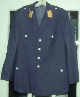 1980s Military German Air Force Jacket Blazer Uniform
