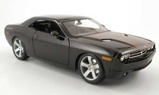2006 Dodge Challenger Concept Diecast Model 1 18 Black