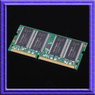 256mb pc133 sodimm sdram 144pin memory so dimm 144 pin Laptop Notebook